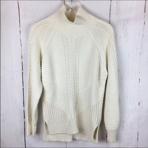 Banana Republic | Cable Knit Turtleneck Sweater